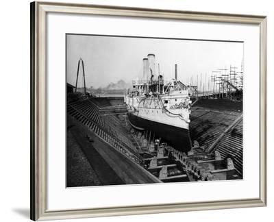 Uss Montgomery (Protected Cruiser : C-9)--Framed Photographic Print