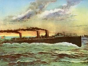 Uss 'Porter, American Torpedo Boat, 1898