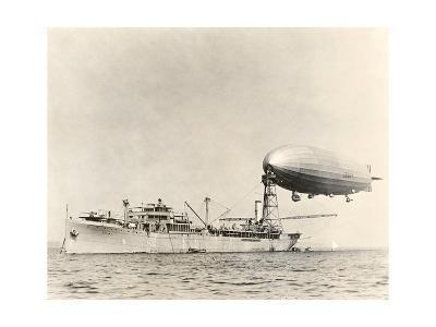 USS Shenandoah Airship And Tender-Miriam and Ira Wallach-Giclee Print
