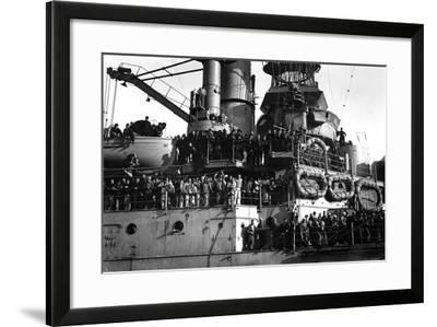 Uss South Carolina (Bb-26)--Framed Photographic Print