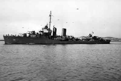 USS Worden (DD-352)--Photographic Print