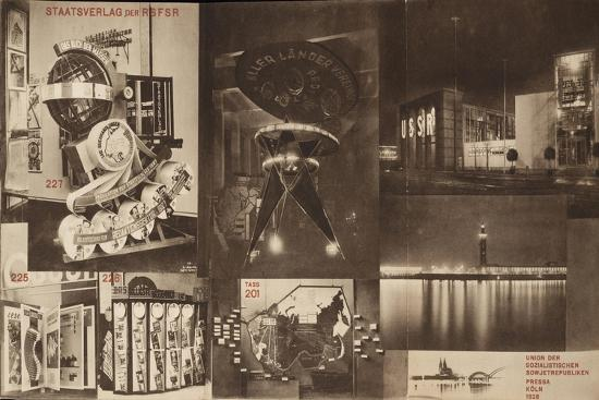 USSR, Catalogue of the Soviet Pavilion at the International Press Exhibition, Cologne, 1928-El Lissitzky-Giclee Print