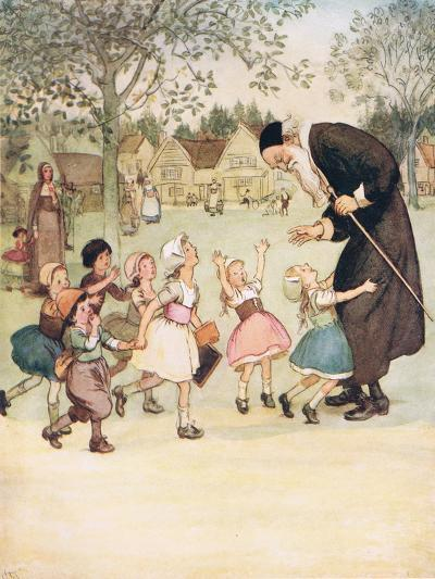 Usually a Vast Favourite with the Children-Hugh Thomson-Giclee Print