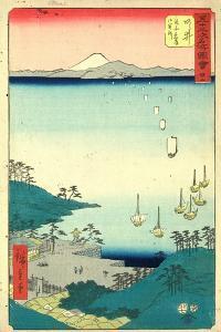 Arai by Utagawa Hiroshige