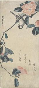 (Bird on Camellia), Early 19th Century by Utagawa Hiroshige