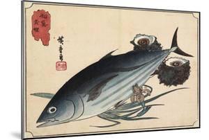 Bonito and Top Shells, Early 19th Century by Utagawa Hiroshige