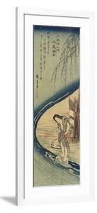 Chofu in Musashi Province, 1830-1844 by Utagawa Hiroshige