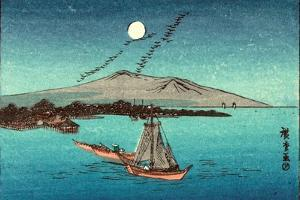 Fukeiga, Between 1900 and 1940 1797-1858 by Utagawa Hiroshige