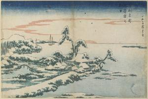 New Year's Day Sunrise at Susaki in Snow, Mid 19th Century by Utagawa Hiroshige