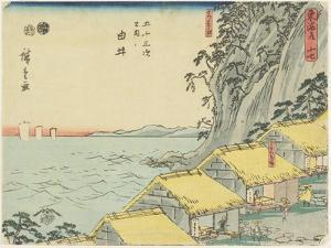 No.16 Yui, 1847-1852 by Utagawa Hiroshige