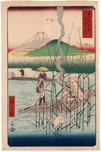 Sagamigawa by Utagawa Hiroshige