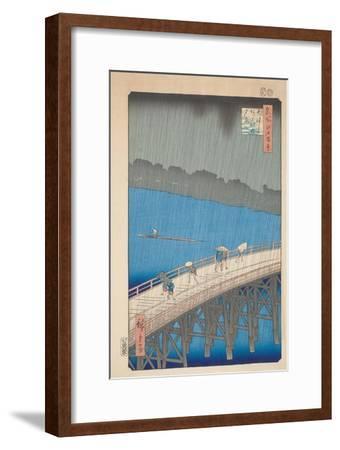 Shower over Ohashi Bridge, 1857