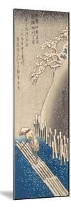 Sumida River in the Snow by Utagawa Hiroshige