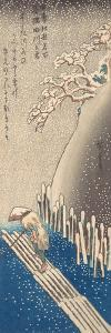 Sumida River in the Snow by Utagawa Hiroshige