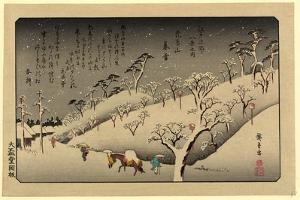 Tamagawa No Shugetsu, 1838 Ando, Hiroshige 1797-1858 by Utagawa Hiroshige
