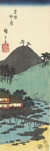 To Nosawa Village in Hakone, February 1854 by Utagawa Hiroshige