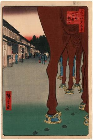 Yotsuya Naito Shinjuku by Utagawa Hiroshige