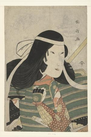 Iwai Kumesaburo as Tomoe Gozen, 1797