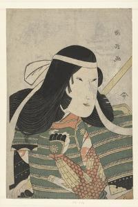 Iwai Kumesaburo as Tomoe Gozen, 1797 by Utagawa Kunimasa