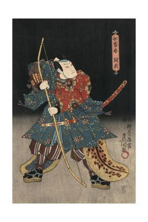 An Actor in the Role of Saitogo Kunitake
