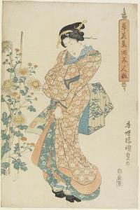 Chrysanthemums, 1830-1844 by Utagawa Kunisada