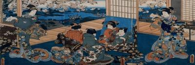 Shoki the Demon Queller, C.1849-53-Utagawa Kunisada-Giclee Print