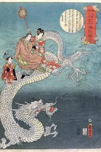 Sea Dragon by Utagawa Kunisada