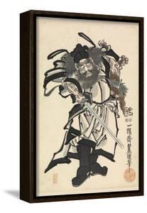 Shoki the Demon Queller, C.1849-53 by Utagawa Kunisada
