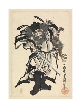 Shoki the Demon Queller, C.1849-53