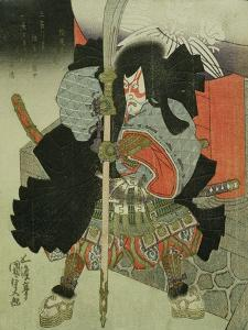 The Actor Ichikawa Danjuro VII as a Samurai Warrior by Utagawa Kunisada