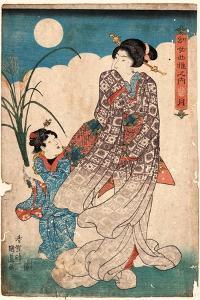 Tsuki by Utagawa Kunisada