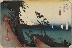 View of Arai, C. 1830-1844 by Utagawa Kunisada