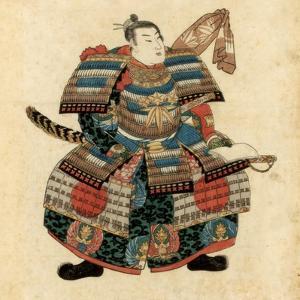 Japanese Warlord Minamoto No Yoritomo, 1845 by Utagawa Kuniyoshi