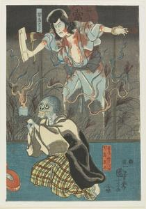 Two Ghosts from Famous Ghosts Series, 1847-1852 by Utagawa Kuniyoshi