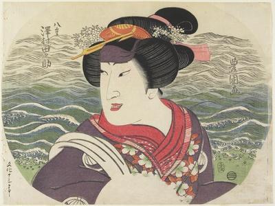 Sawamura Tanosuke II as Yae, 1816