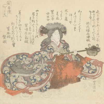 Segawa Kikunojô as Tomoe Gozen, c.1825-29