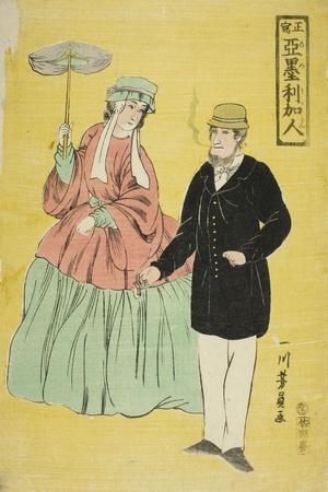 Americans Drawn from Life (Sho Utsushi Amerikajin), 1861