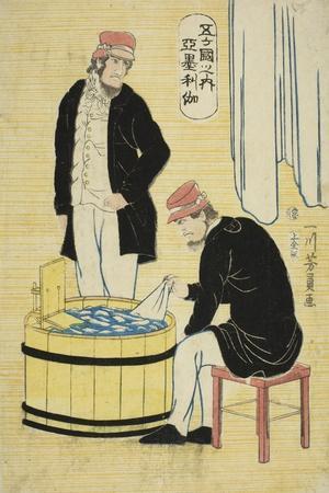 Among the Five Nations: Americans (Gokakoku No Uchi, Amerikajin), 1861