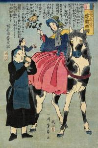 France, February 1862 by Utagawa Yoshikazu