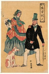 Sho Utsushi Igirisujin by Utagawa Yoshikazu