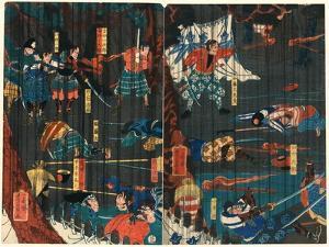 Soga No Adauchi by Utagawa Yoshikazu
