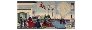 L'Amérique by Utagawa Yoshitora