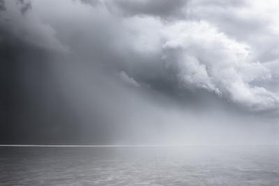 Utah, Bonneville Salt Flats. Approaching Thunderstorm-Judith Zimmerman-Photographic Print