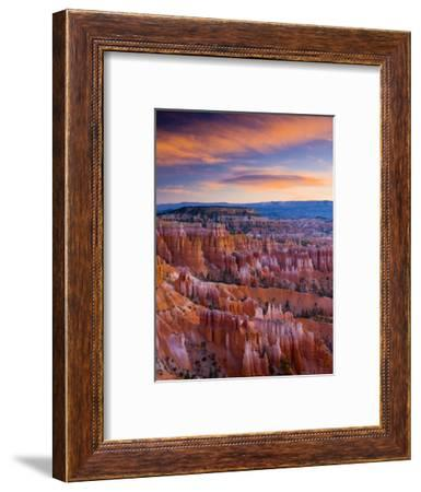 Utah, Bryce Canyon National Park, from Sunset Point, USA-Alan Copson-Framed Photographic Print