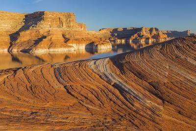 Utah. Weathering Pit Ridge at Lake Powell-Jaynes Gallery-Photographic Print