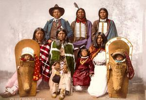 Ute Indians, Chief Sevara and Family