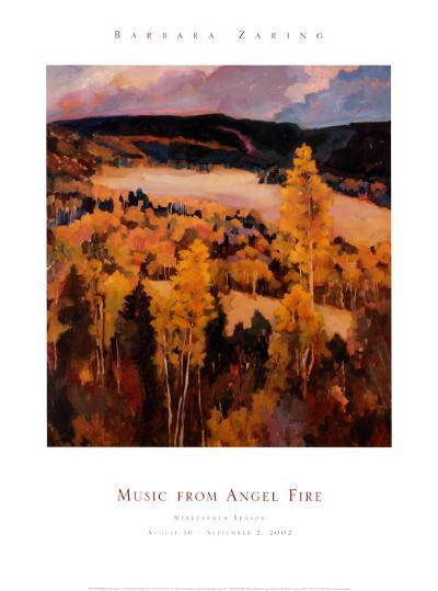 Ute Park New Mexico-Barbara Zaring-Art Print