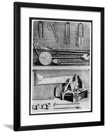 Utensils of a Glass Blower--Framed Giclee Print