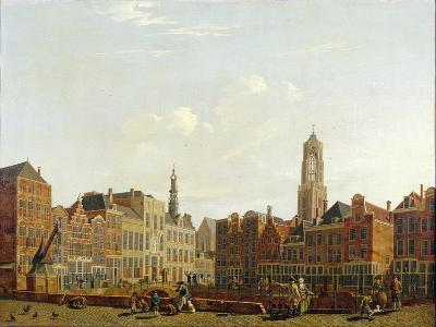 Utrecht Town Hall Bridge with Surroundings, 1779-Isaac Ouwater-Giclee Print