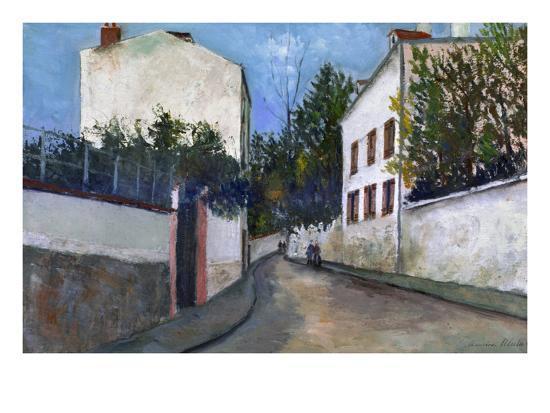 Utrillo: Sannois, 1912-Maurice Utrillo-Giclee Print